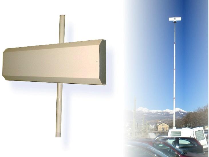 Antenne Monitoraggio Spettro Elettromagnetico