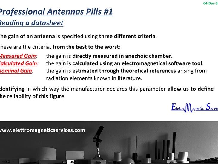 Antenne Professionali in Pillole #1