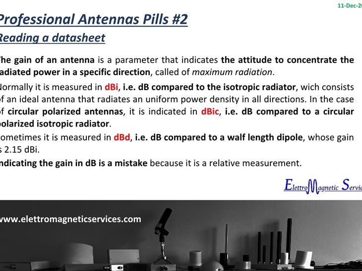 Antenne Professionali in Pillole #2