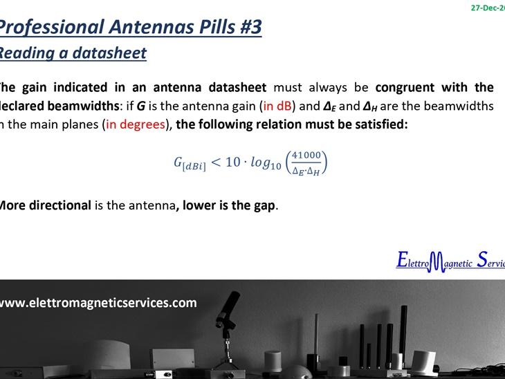 Antenne Professionali in Pillole #3