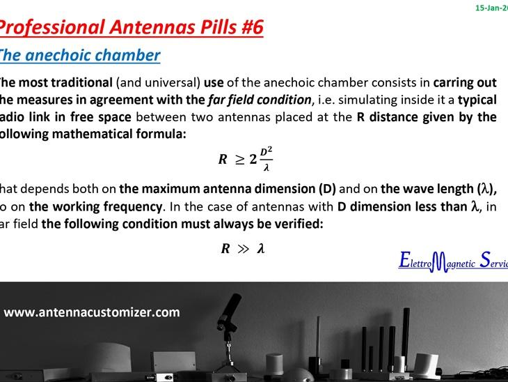 Antenne Professionali in Pillole #6