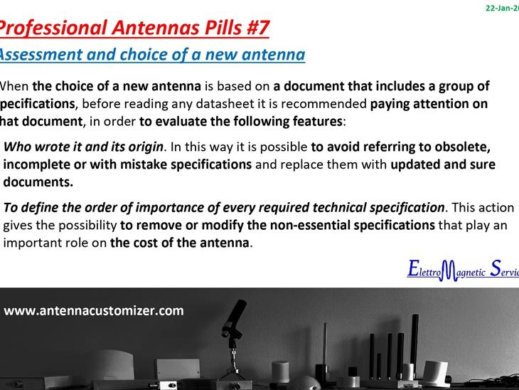 Antenne Professionali in Pillole #7
