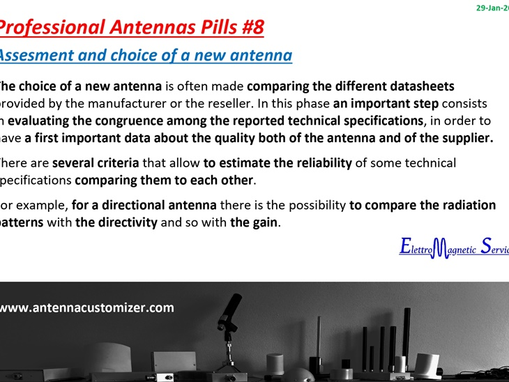 Antenne Professionali in Pillole #8